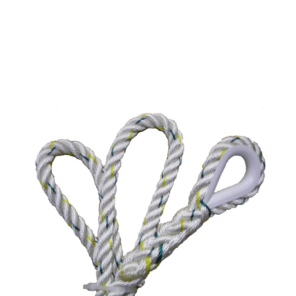 Abtech Safety Nylon Rope w/ Plastic Eye