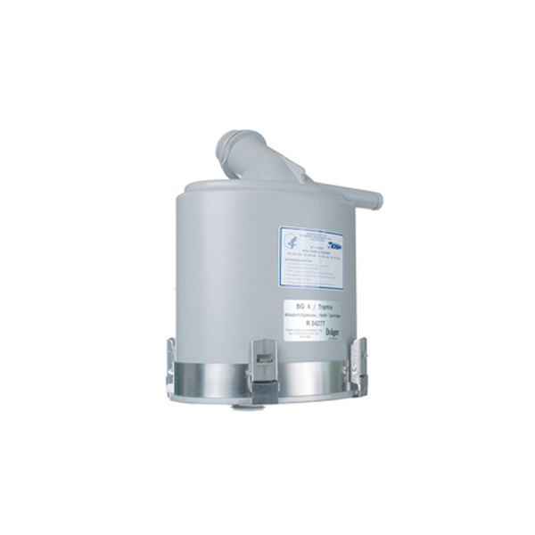 Dräger Refillable CO2 Cartridge For Dragersorb 400 (Grey)