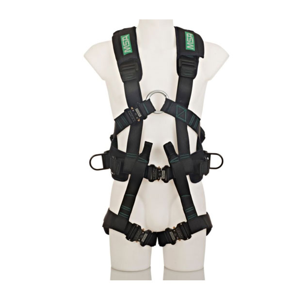 MSA alphaFP Pro Fall Protection Harness for SCBA