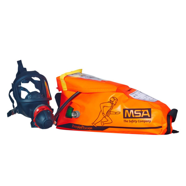 MSA PremAire Escape Breathing Apparatus with Full Face Mask