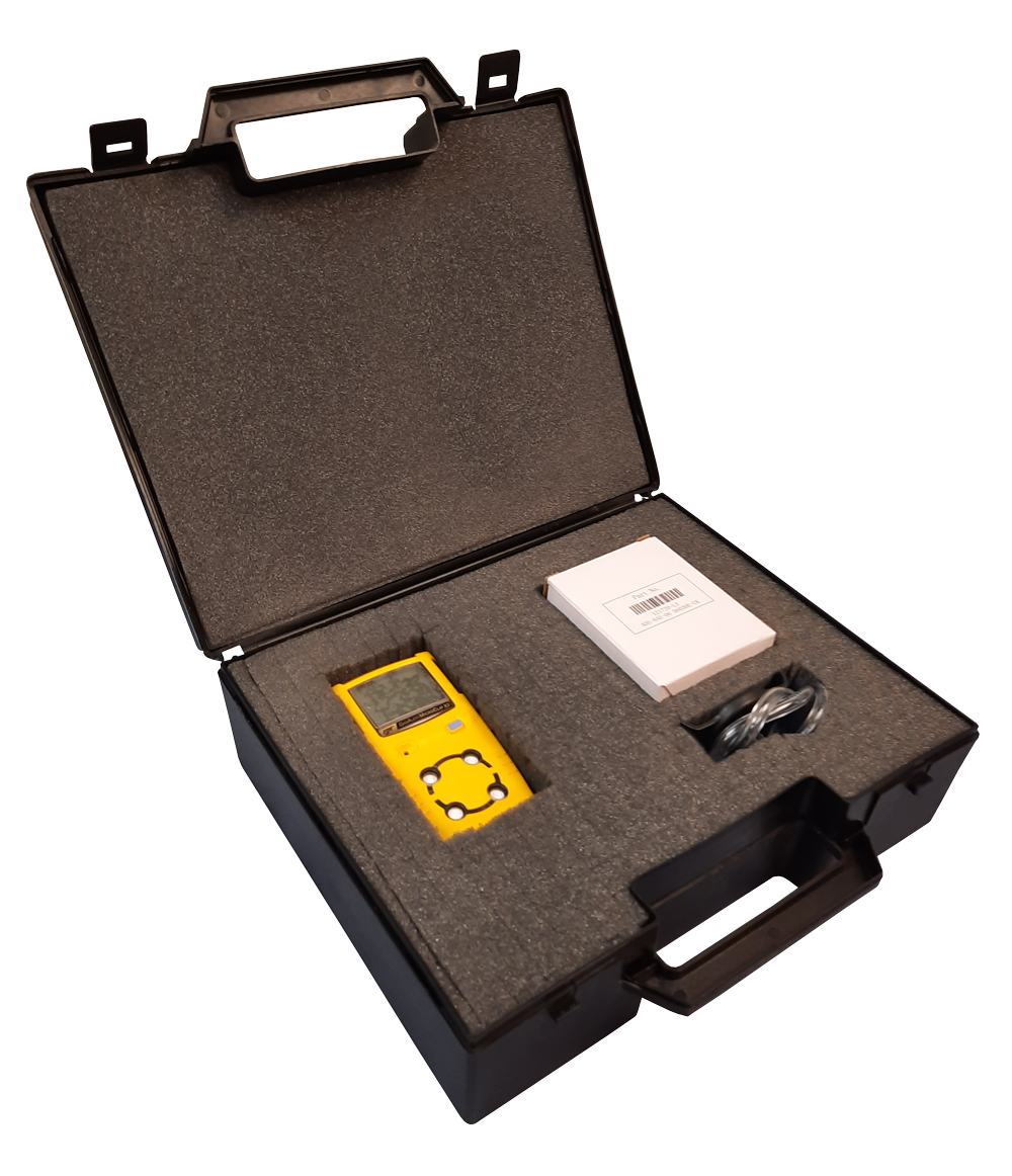 Gas monitor carry case