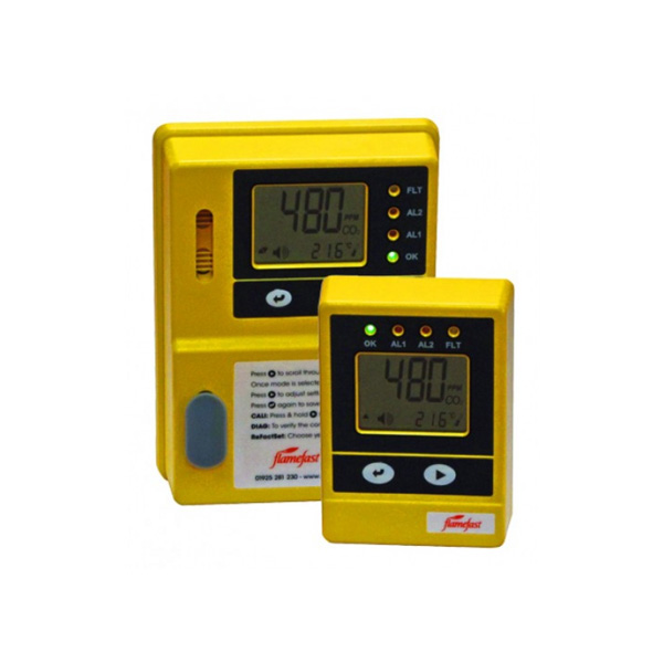 Flamefast CellarGuard CO2 Monitoring System