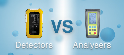 Gas Detectors vs Gas Analysers - Main Article Image