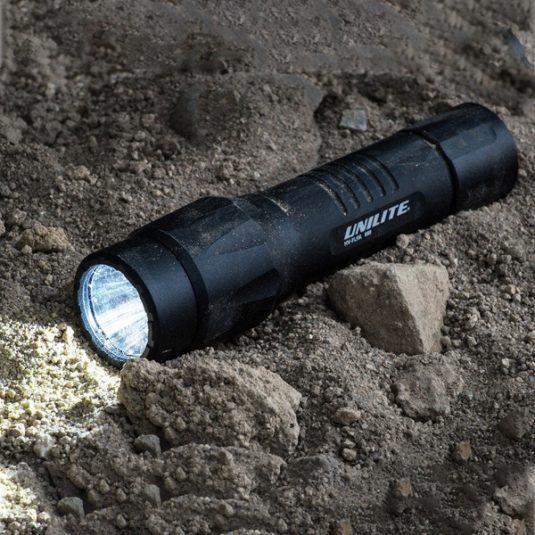 Unilite HiVis Rechargeable LED Torch (HV-FL9R)