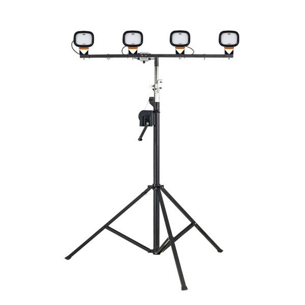 Defender Power LED6000S Quad Floodlight Head & Winch Mast