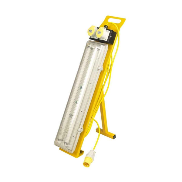 Defender Power Fluorescent Contractor Floor Light