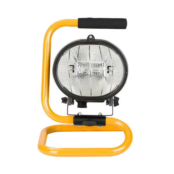 Defender Power Halogen Floodlight with Floor Base