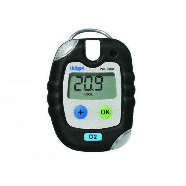 Dräger PAC 3500 O2 Personal Gas Detector