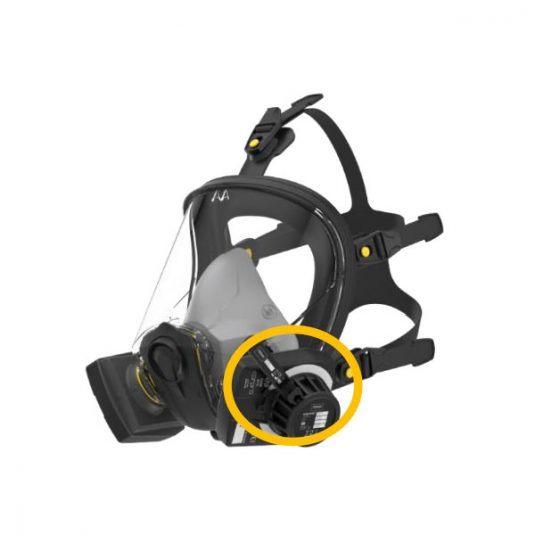 Semmco RP100 FitCheck (On-filter & In-mask) - Side View