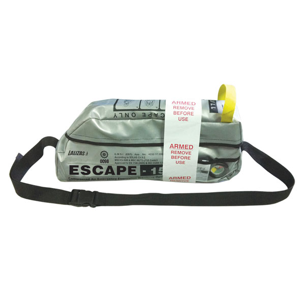 Lalizas Emergency Evacuation Breathing Device (ESCAPE-15)