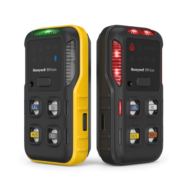 BW Icon Gas Detector - 4 Gas Diffusion