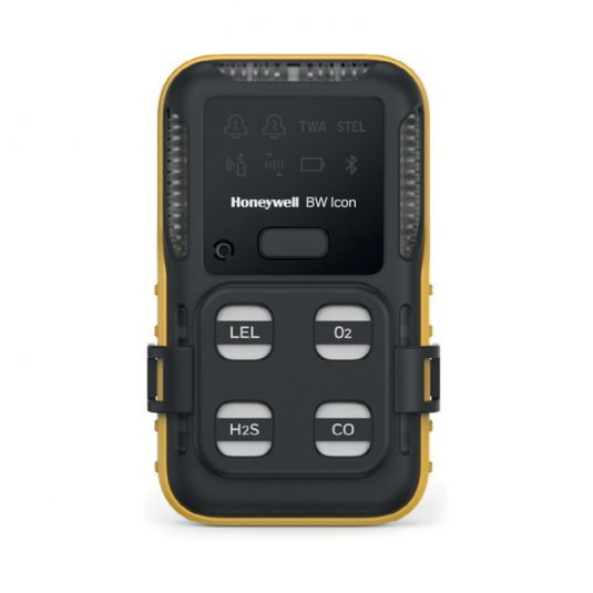 Honeywell BW Icon Gas Detector - Front Angle
