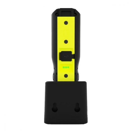 CRI-1250R Compact Detailing Light - Rear View On Charging Stand