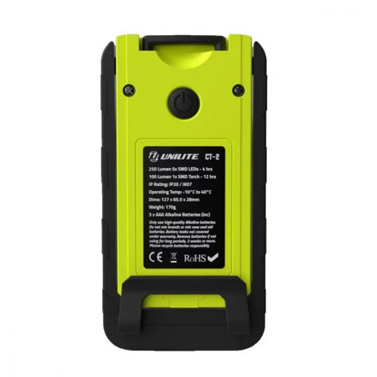 CT-2 Compact LED Work Light - Rear View
