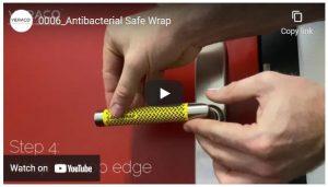 Antibacterial Door Handle Wrap