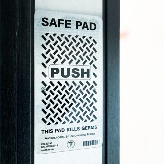 CLEAR Antibacterial Push Pad