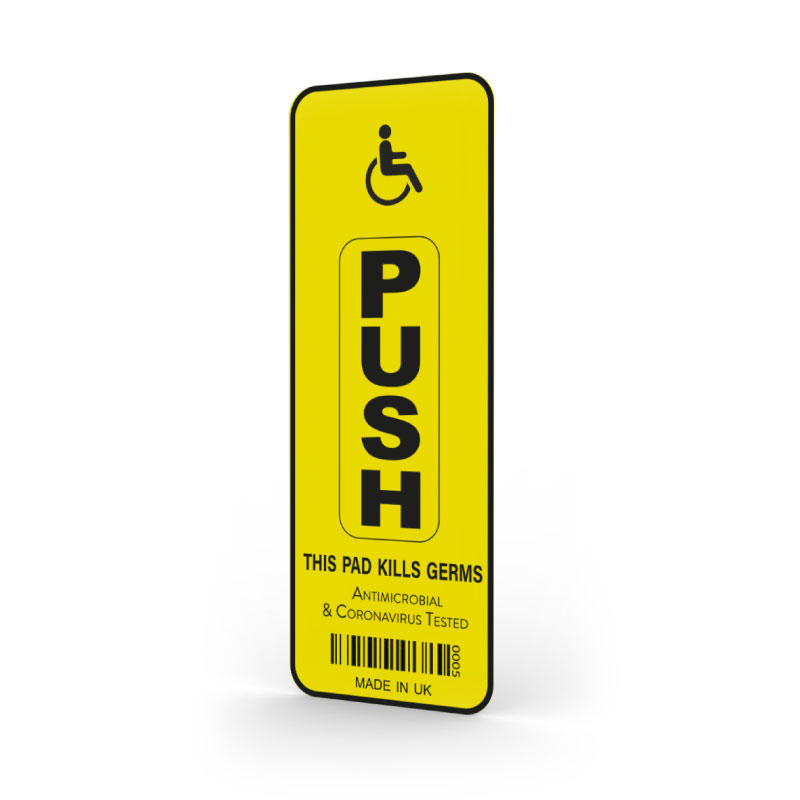 Antibacterial Door Access Push Button