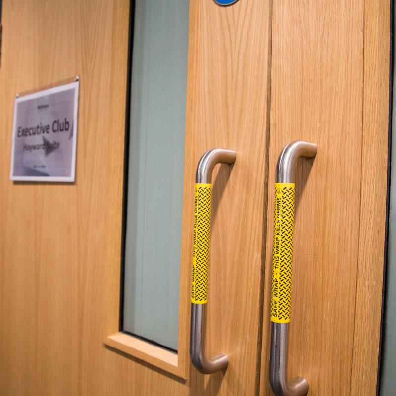 Antibacterial Pull Door Handle Wrap
